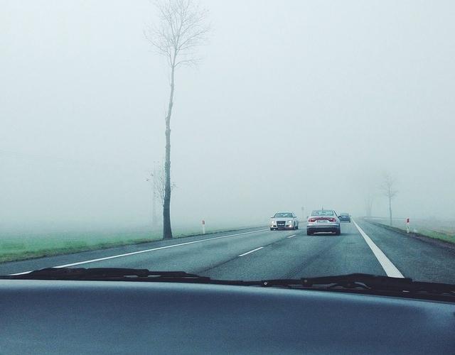 driving through the fog