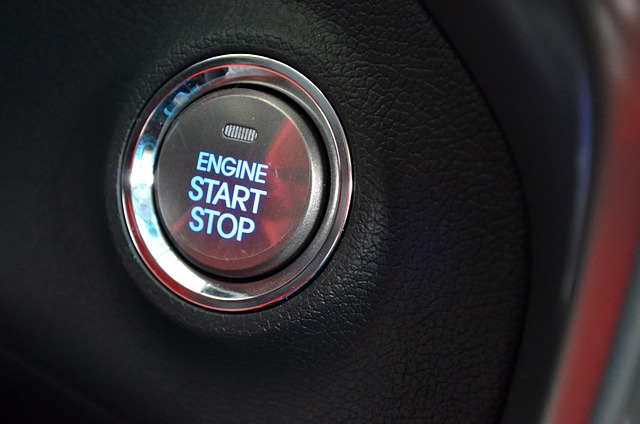 Vehicle Ignition Button
